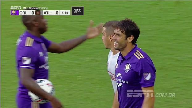 Kaká passa em branco, Orlando leva golaço e perde em casa para o Atlanta
