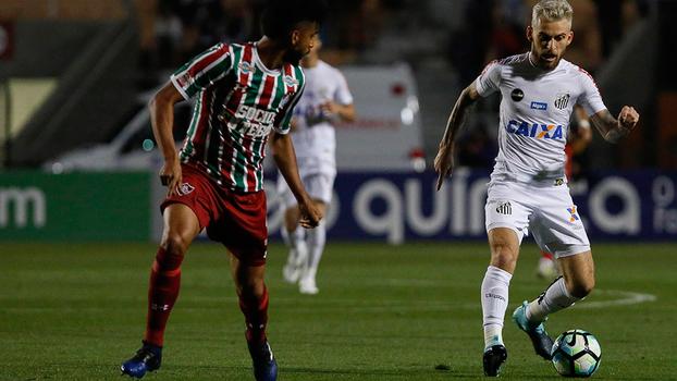 Brasileiro: Lances de Santos 0 x 0 Fluminense