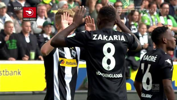 Borussia Monchengladbach estreia em casa com vitória simples sobre o Colônia; veja o gol
