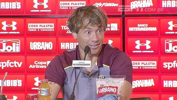Lugano elogia Rogério Ceni: 'Parece que nasceu para ser treinador'