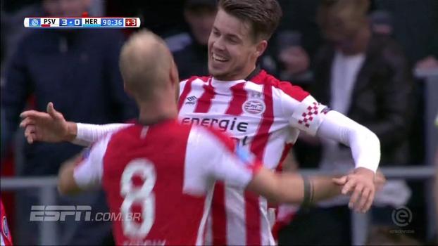 PSV vence Heerenveen por 3 a 0 e se isola ainda mais na liderança do Campeonato Holandês