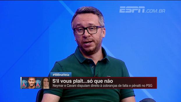 Barros comenta desentendimento entre Neymar e Cavani: 'O maior desafio é a administração de egos de estrelas'