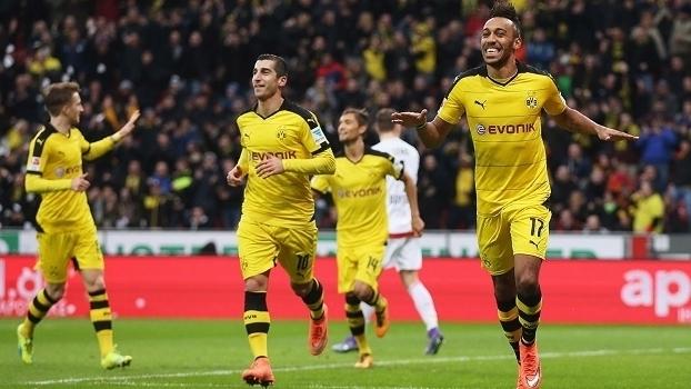 Alemão: Gols de Bayer Leverkusen 0 x 1 Borussia Dortmund