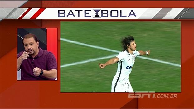 Para Alê Oliveira, gol de Romero só mostrou o quanto foi 'sofrível' o jogo do Corinthians