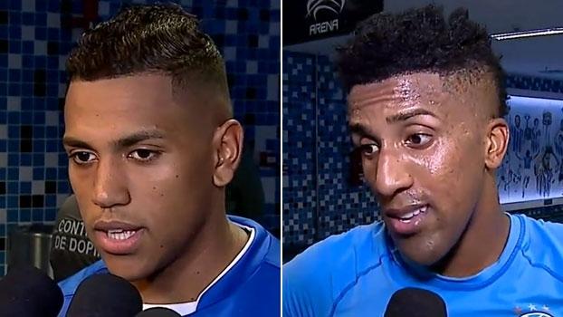 Jogadores do Grêmio projetam jogo decisivo contra o Corinthians