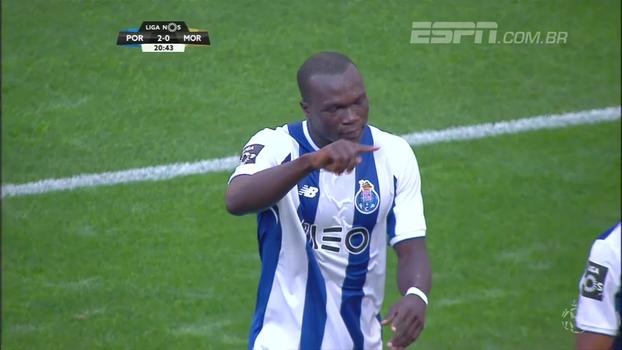 Português: Melhores momentos de Porto 3 x 0 Moreirense