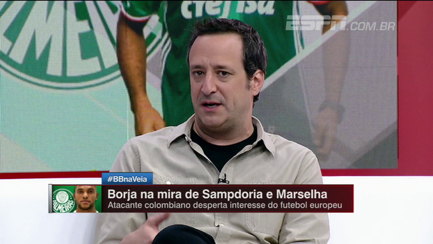 Gian confirma que Sampdoria busca atacante e opina sobre Borja; Calçade: 'O que faz dele uma decepção, na Itália será uma dupla decepção'