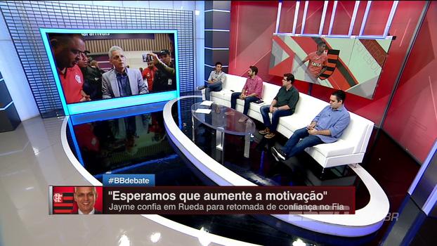 BB Debate analisa falta de confiança do elenco do Flamengo