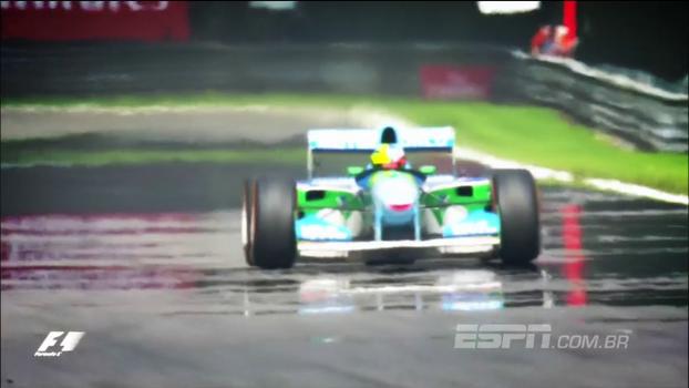 Antes do GP da Bélgica, filho de Michael Schumacher homenageia 1º título do pai na Fórmula 1