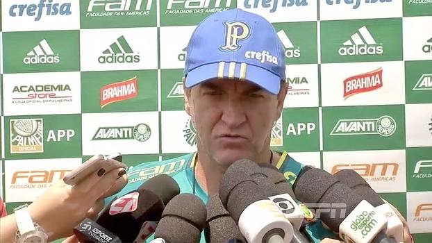 Preparado para tudo, Cuca espera jogo difícil no 'clássico decisivo' contra Corinthians