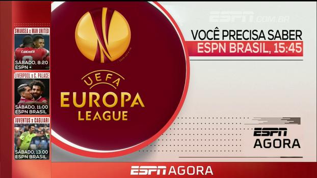 Milan na Europa League, pré-temporada da NFL, Brasileiro Sub-20 e mais: veja a programação da ESPN nesta quinta