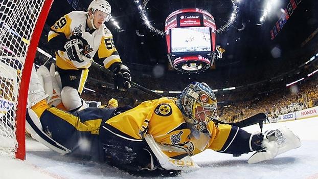 Goleiro é destaque, e Predators empatam a série contra os Penguins na Stanley Cup