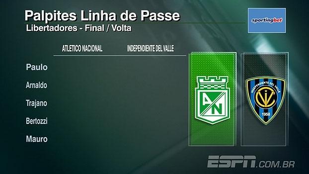 Confira os palpites do 'Linha de Passe' para a final da Libertadores