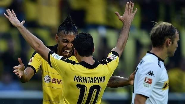 Veja os melhores momentos da vitória do Dortmund sobre o Mönchengladbach  por 4 a 0 a48e90ef57f39