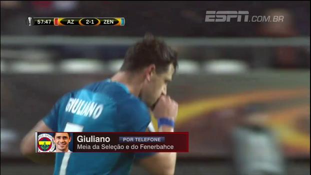 Giuliano explica motivo de saída do Zenit e ida ao Fenerbahçe