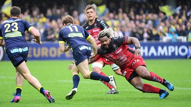 Clermont vence Toulon e se garante na semifinal do Europeu de rugby