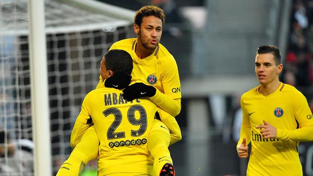 Veja os melhores momentos da vitória do PSG sobre o Rennes por 4 a 1