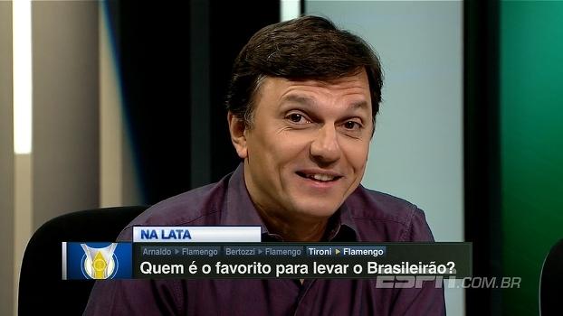Mauro dá 'palpite bailarino' sobre o campeão brasileiro de 2017