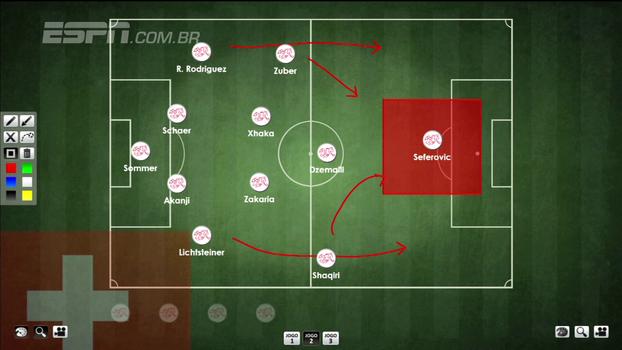 Rafa Oliveira destaca os pontos fortes e fracos da Suíça, seleção classificada para a Copa do Mundo: 'Nova reformulação'