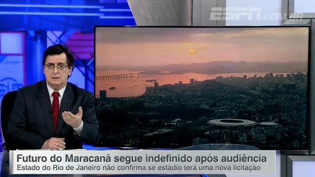 Antero analisa futuro indefinido do Maracanã: 'O que choca é a posição mesquinha dos dirigentes'