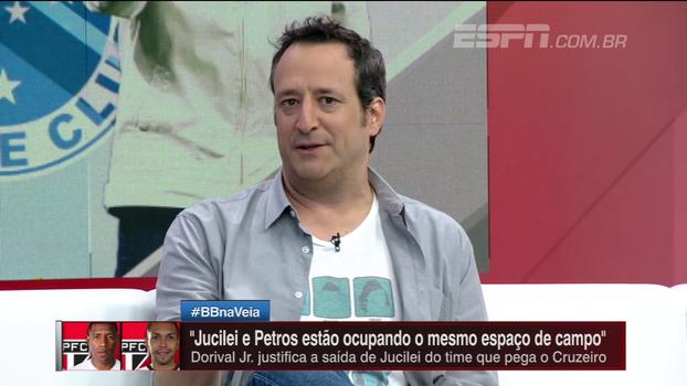 Gian Oddi: 'A ausência do Thiago Neves faz uma diferença grande para o Cruzeiro'