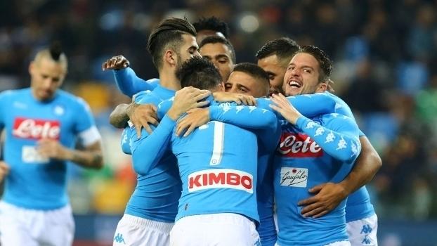 Italiano: Gols de Udinese 1 x 2 Napoli