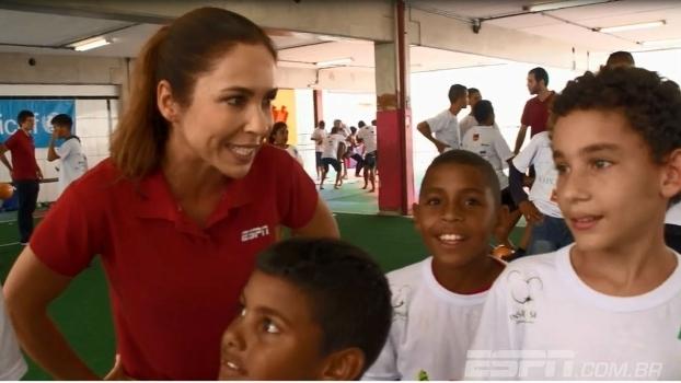 Caravana do Esporte - ESPN visita projeto social em São Paulo
