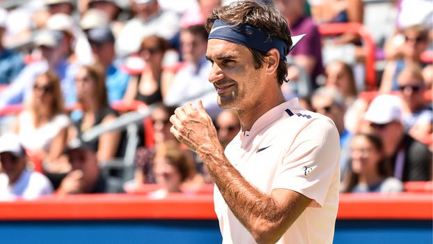 Assista aos lances da vitória de Roger Federer sobre David Ferrer por 2 sets a 1!