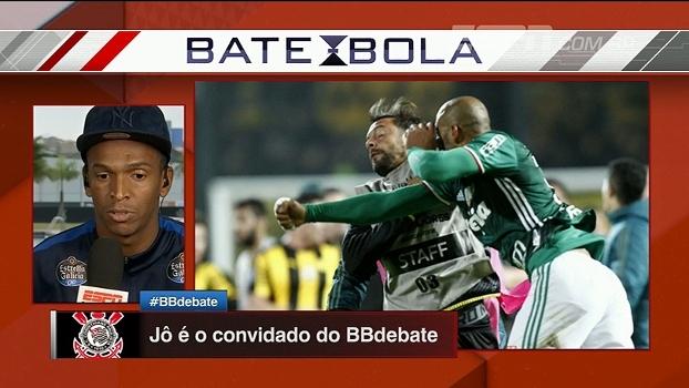 Jô volta a falar de gol polêmico e diz que torce por brasileiros na Libertadores