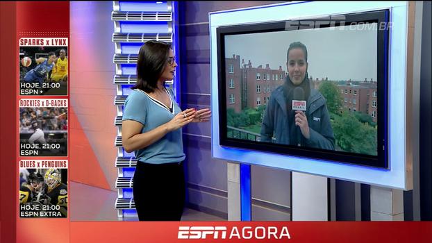Natalie Gedra atualiza notícias sobre lesão de Agüero e fala de expectativa para confirmação da Inglaterra na Copa