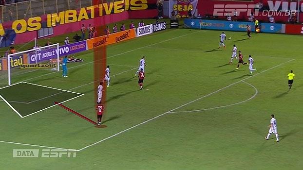 DataESPN e Mário Marra mostram similaridades nos gols de Santos e Vitória