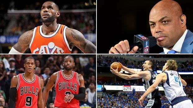 LeBron x Barkley, Wade x Rondo e Ginóbili x Nowitzki. Duelos do 'NBA Countdown Brasil'!