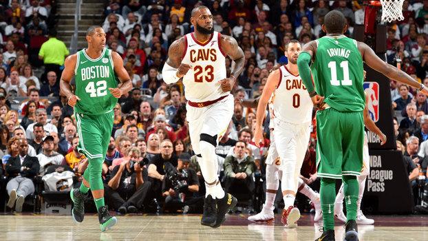 Noite de gala: LeBron James comanda vitória dos Cavaliers na estreia da nova temporada da NBA