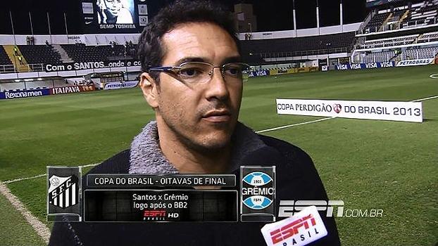 Alberto relembra duelo com Grêmio em 2002 e revela que Robinho e Diego 'quase foram agredidos'