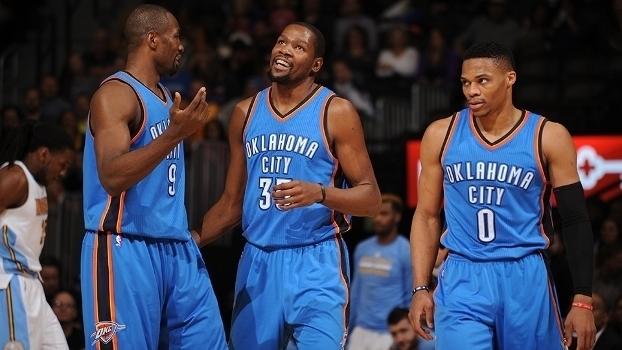 Thunder vencem em Denver — NBA