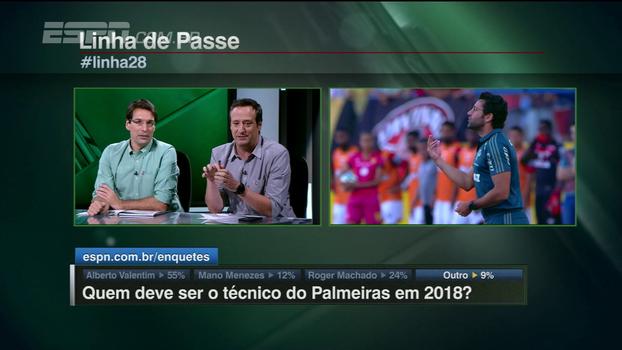 Gian elogia Valentim por não ser populista: 'Melhor jogo do Palmeiras desde que o Cuca voltou'