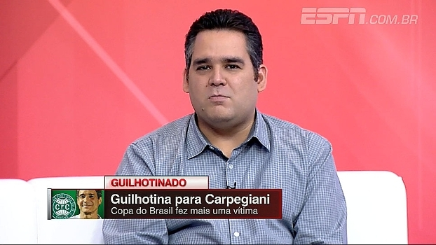 Bertozzi analisa demissão de Carpegiani após eliminação na Copa do Brasil
