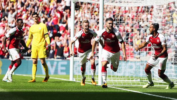 Supercopa da Inglaterra: gols de Arsenal 1(4) x (1) 1 Chelsea