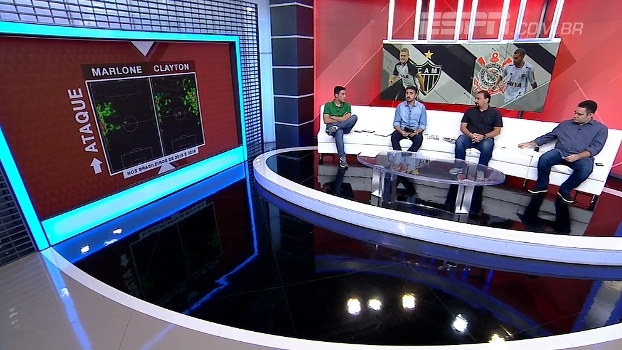 Marlone x Clayton: BB Debate analisa a movimentação dos jogadores dentro de campo