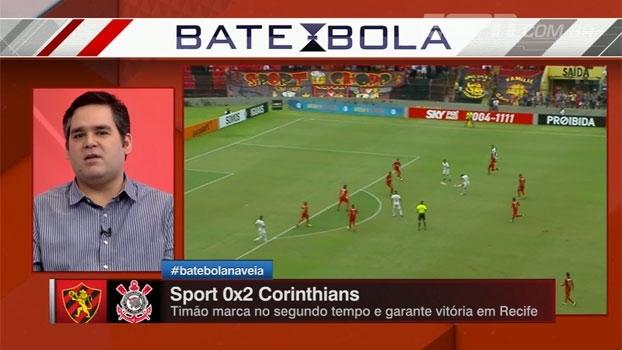 Bertozzi analisa função de Guilherme no Corinthians: 'Muito acima da média'