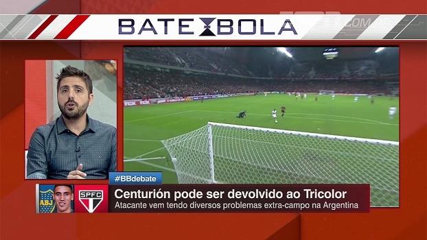 Nicola, sobre Centurión: 'A tendência é que volte ao São Paulo'