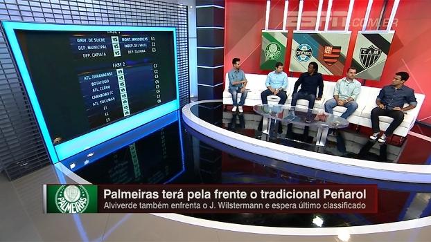 Quem tem a missão mais difícil na Libertadores? Roque Júnior, Breiler e Zé Elias analisam