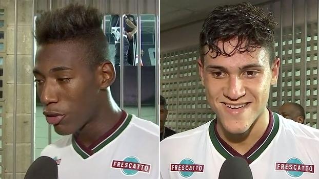 Léo Pelé comemora 'baita jogo', e Pedro revela: 'Abel deu um esporro na gente no intervalo'