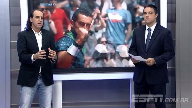 Meligeni analisa começo da temporada do saibro e diz: 'Djokovic me preocupa'