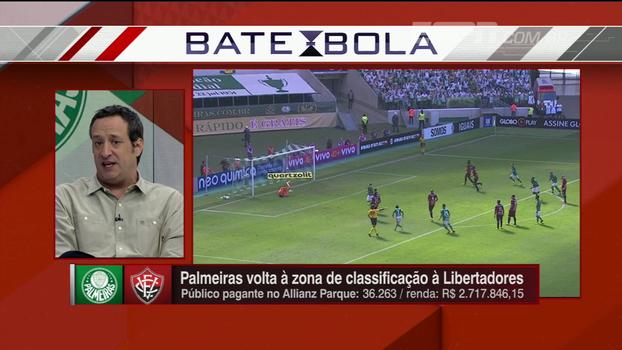Gian Oddi discorda de Cuca sobre vitória do Palmeiras ter sido consistente