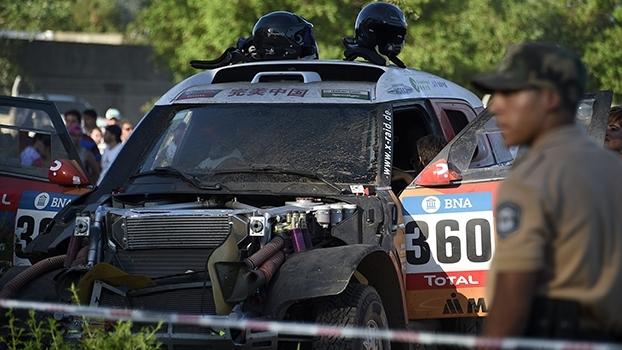 Acidente com pilotos chinesas cancela etapa de classificação do Rally Dakar 2016