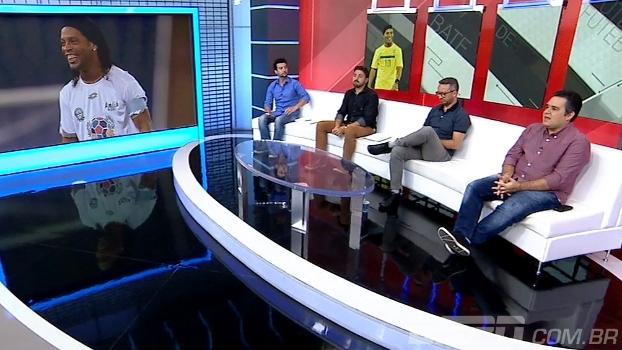 Vice do Coritiba diz que contratação de Ronaldinho ainda não foi debatida com a comissão técnica