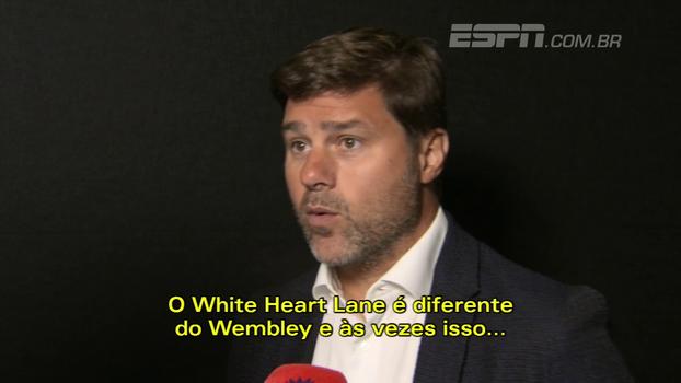 Pochettino projeta a temporada do Tottenham e fala da difícil mudança de jogar em Wembley e não em casa