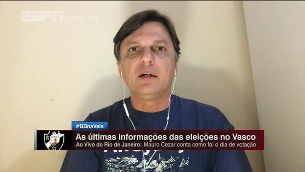 Mauro analisa união de chapas de oposição contra Eurico na eleição do Vasco
