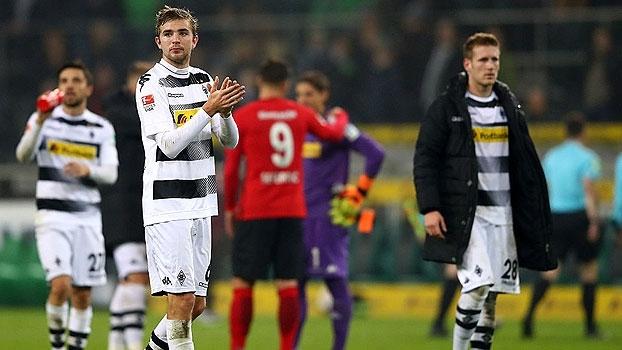 Sem Raffael, sem vitória: M'Gladbach e Eintracht Frankfurt ficam no empate
